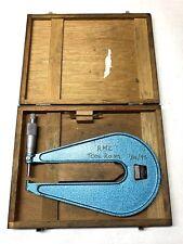 Fowler Deep Throat Micrometer 01 0001 Calibrations 6 12 Depth Nice