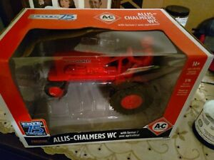ERTL Allis-Chalmers WC Tractor 1/16 With Farmer 75th Anniversary Prestige NIB