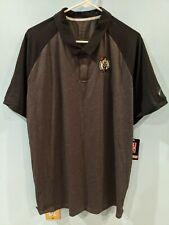 Boston Celtics Nike Gray/black striped Golf Shirt, Size XL