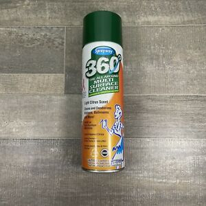 Sprayway- 360 All Around Multi Surface Cleaner- Light Citrus Scent-Discontinued
