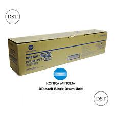 1 x Konica Minolta DR-512K Black Drum Unit - 120,000 pages