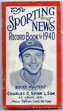 Vintage 1940 The Sporting News Baseball Record Book  129719