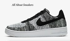 """Nike Air Force 1 Flyknit 2.0 """"Black/Blac"""" Men's Trainers Limited Stock All Sizes"""