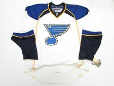 ST. LOUIS BLUES AUTHENTIC AWAY REEBOK EDGE 1.0 7187 HOCKEY JERSEY SIZE 54
