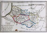 Somme en 1794 Le Crotoy Cayeux Rue Ault Saint Valéry Cressy Péronne Nesle Amiens