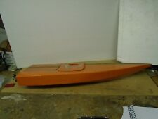 Model RC Wooden Speed Boat