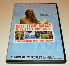 Is It True What They Say About Ann? (DVD, 2005)