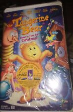 The Tangerine Bear Home In Time For Christmas ( VHS Tape Clamshell ) New Rare
