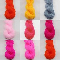 Handwork DIY Crafts Wool Roving Super Soft Yarn Chunky Bulky Knitting Crocheting