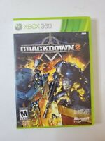 Crackdown 2 (Microsoft Xbox 360, 2010) Free Fast Shipping
