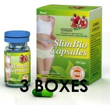 100% Authentic. Diet Pills / 3 Boxes / Slim Bio Herbal Slimming Capsules