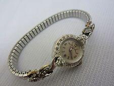 Lady Elgin 23jewel 14k White Gold Diamond Watch