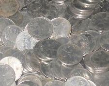 100 Coins LOT - MIXED YEARS -  Steel 25 Paise - RHINO -  india