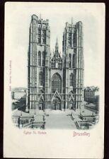 Belgium BRUXELLES Eglise St Gudule early u/b PPC