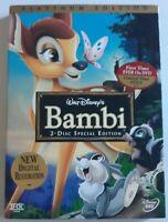 walt Disney's Bambi dvd platinum Edition 2 disc special