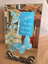 """Mirrored Plaque """"Mother"""""""