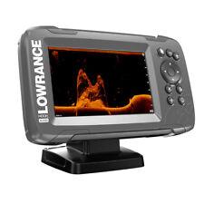 "Lowrance HOOK2-5x 5"" GPS SplitShot Fishfinder w/Track Plotter Transom Mount Spli"