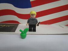 Lego Harry Potter Minifigure DRACO MALFOY WITH APPLE & WAND SET 40419