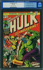 Hulk #181 CGC 8.0 Marvel 1974 1st Wolverine! After #180! New Case! F12 402 cm