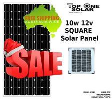 10W 12V Solar Panel 10 Watt 12 volt Mono DIY Battery Charger