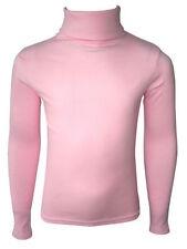 Vêtements rose à manches longues pour fille de 2 à 16 ans en 100% coton, taille 3 - 4 ans
