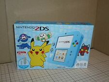 [2ds] NEW Nintendo 2DS Console Pokemon Sun & Moon Light Blue (NTSC-J)
