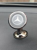 MERCEDES Universal 360 BLACK Magnetic Mobile Phone In Car Dash GPS Holder Mount