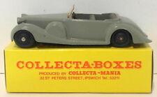Vintage Dinky 38C - Lagonda Sports Coupe - Grey