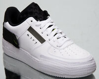 Nike Air Force 1 Type Men's White Black Volt Casual Lifestyle Low Sneakers Shoes