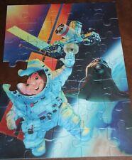 Ravensburger Space Shutte Astronaut Puzzle 35 BUT one piece Missing Art Parts