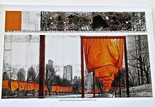 Christo & Jean Claude The Gate of Central Park Project Poster 5 14x11
