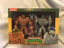NECA Traag and Granitor 2-Pack Teenage Mutant Ninja Turtles Target TMNT Figures
