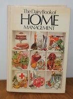 The Dairy Book Of  Home Management HB  Milk Marketing Board 1980