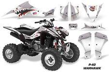 ATV Decal Graphic Kit Wrap For Suzuki LTZ400 Kawasaki KFX400 2003-2008 WARHAWK S