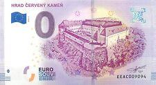 HRAD CERVENY KAMEN - SOUVENIR BILJET 0 EURO,SLOVAKIA -2018/1-UNC(SB107)
