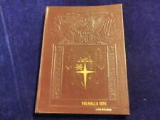 1976 Swan Valley High School Saginaw Michigan Yearbook Annual Valhalla  F