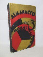 Almanacco dei 3 mondi 1936 - Fascismo Biologia Igiene Lavoro Alimentazione