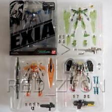 Bandai Gundam MSIA Action Figure Exia Dynames Kyrios & Virtue Clear Color Set