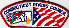 Boy Scouts Of America CONNECTICUT RIVERS CNL CSP badge