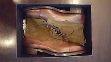 NEW Ralph Lauren Edward Green Shoes Boots 10.5D $1,950 Purple Label England Made