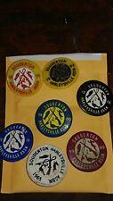 7 Vintage Harleysville Souderton Sportsman Assn Buttons