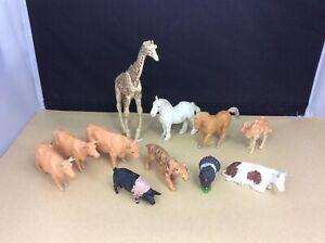 Vintage 1970's Britains Plastic Animals Joblot