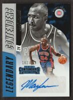 2018-19 Panini Contenders Legendary Auto #LC-MAG Mark Aguirre 162/199 Pistons