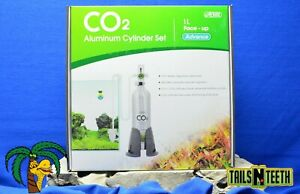 ISTA CO2 Aluminum Cylinder Set with Indicator - 1L Face-up Advance