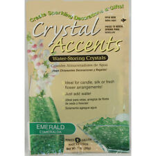 Crystal Accents Emerald Green Water Storing Gel - Makes approximately 8.5 Pints