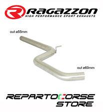 RAGAZZON TUBO CENTRALE NO SILENZIATORE VW GOLF VII 7 2.0TDi GTD 135kW 183CV