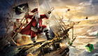 Gifts For The Home art wall Decor Santa Claus Oil painting Printed on canvas