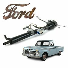 "1961-66 Ford F100 Truck Keyed Black Tilt Steering Column 33"" Straight-Six Ranger"