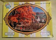 TUCO CAMEO PUZZLE GLORY THAT IS AUTUMN 1958 1000 PC NO 1500 KING SIZE WOOD LIKE.