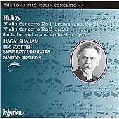 Jeno Hubay Violin Concertos Nos. 1 & 2 & Suite for violin and orchestra CD *NEW*